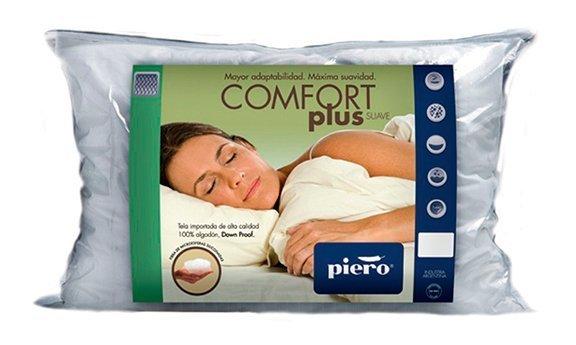 Almohada Comfort Plus Suave