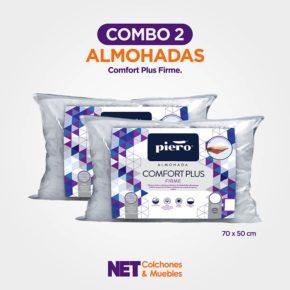 COMBO 2 Almohadas Comfort Plus
